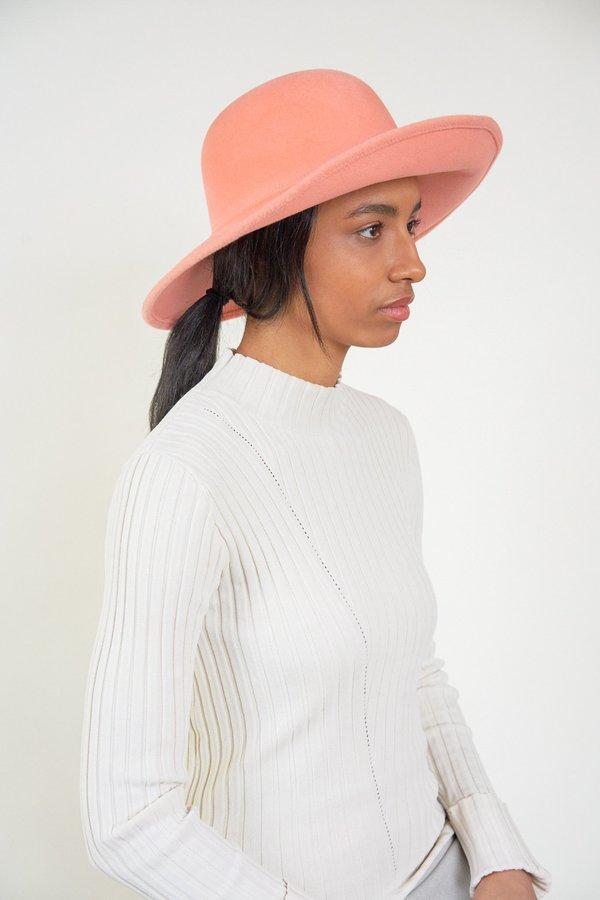 2498ae33317 Clyde Petal Angora Hat - Melon