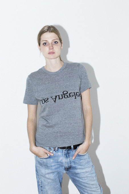 Unisex Assembly New York LA Logo T