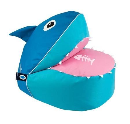 KIDS Sunnylife Sharky Bean Bag Chair Cover