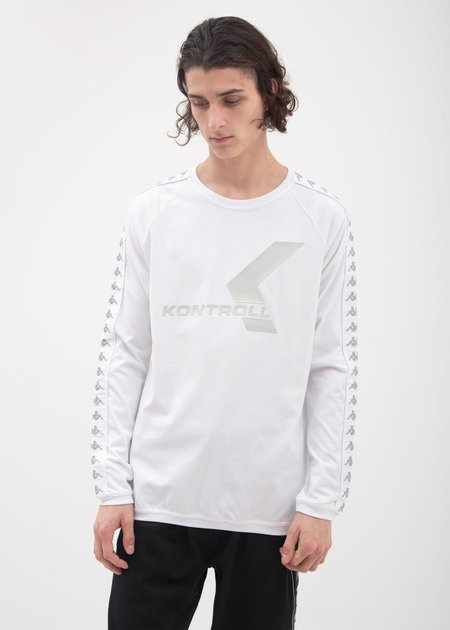 Kappa Kontroll Banda Long Sleeve T-Shirt - White