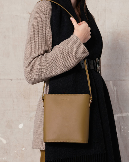 The Stowe Nellie Nappa Bag - Olive