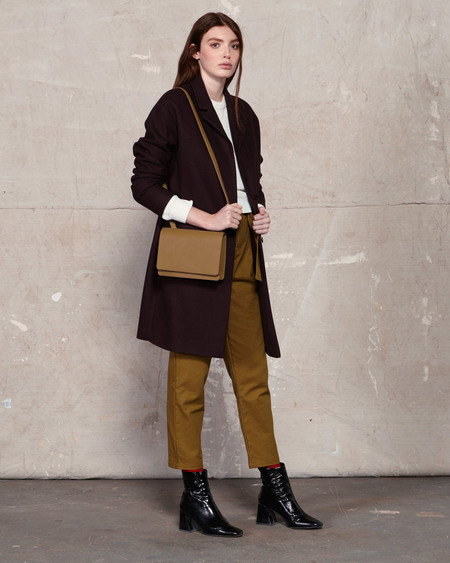 The Stowe Evelyn Nappa Bag - Olive