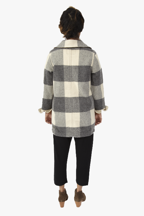 Woolrich Buffalo Plaid Coat