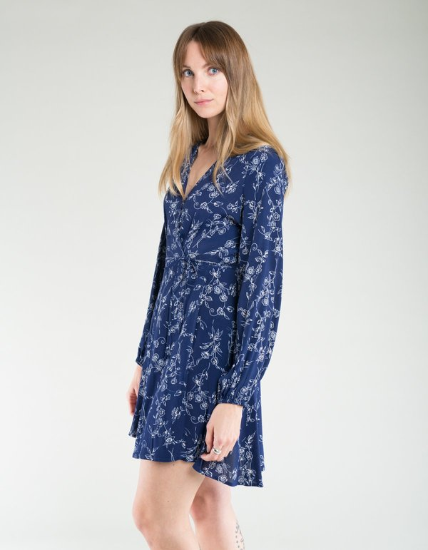 979e55065327d6 Rollas Lily Dahlia Wrap Dress - Navy. sold out. Rollas