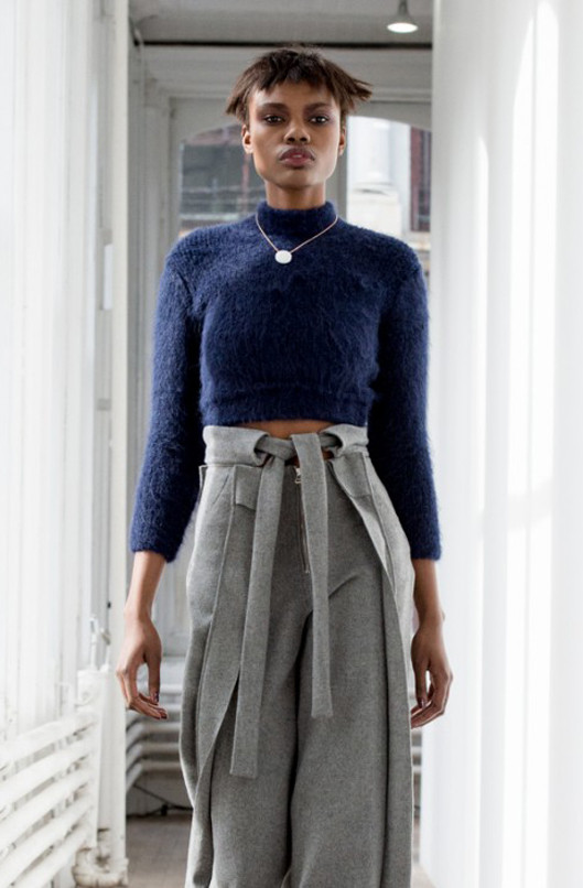 Eckhaus Latta Body Con Sweater