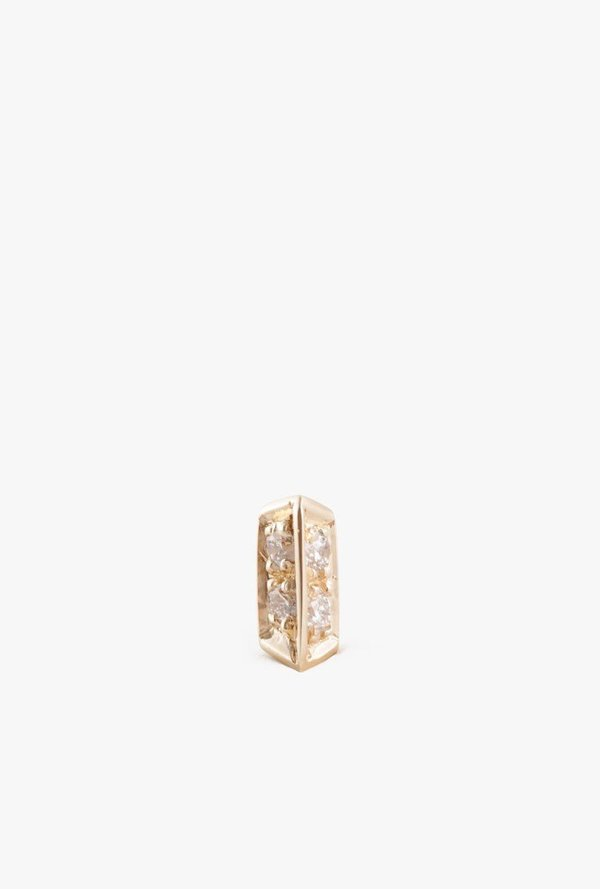 e7f0a0942 Selin Kent Sophia Stud Earring - 14k Gold/White Diamond (Single ...