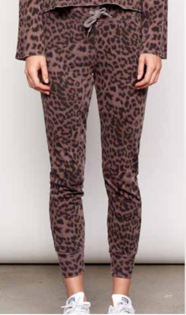 9c6236c84a6e Sundry Leopard Print Jogger - MINK | Garmentory