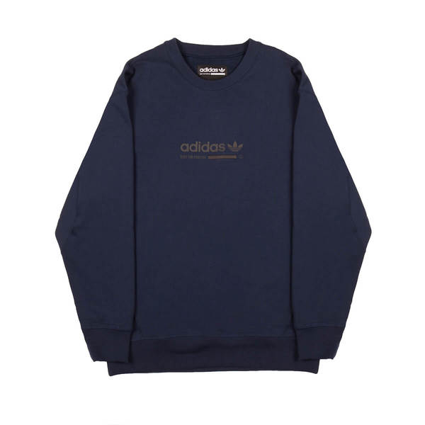release date: cheapest great look Adidas Originals Kaval Sweatshirt - Blue on Garmentory