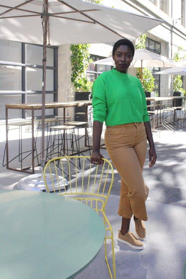 62fc7761839 Diarte Greta Sweater - Lime