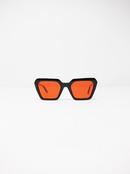 Chimi Laser Frame - Semi Black/Red