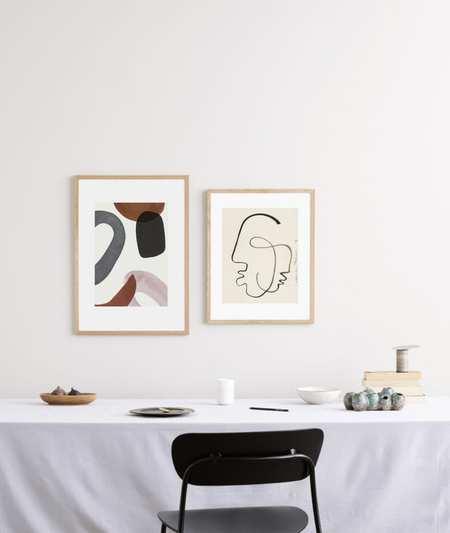 Berit Mogensen Lopez Elements Art Print