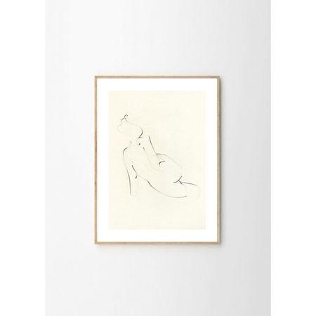 Ekaterina Koroleva Nude 01 Art Print