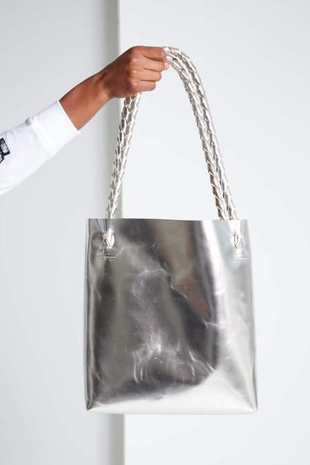 ARA Handbags Tote Bag - Silver