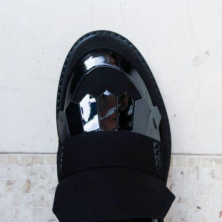 Aperlaï Loafers - Black