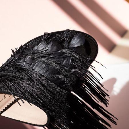 Aperlaï Tabatha mules - BLACK