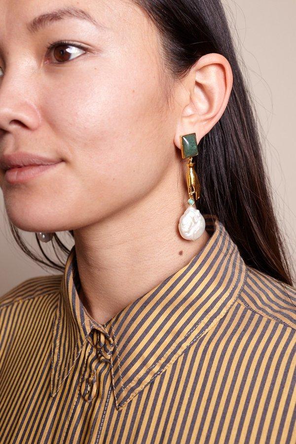 Lizzie Fortunato Gentlewoman Earrings