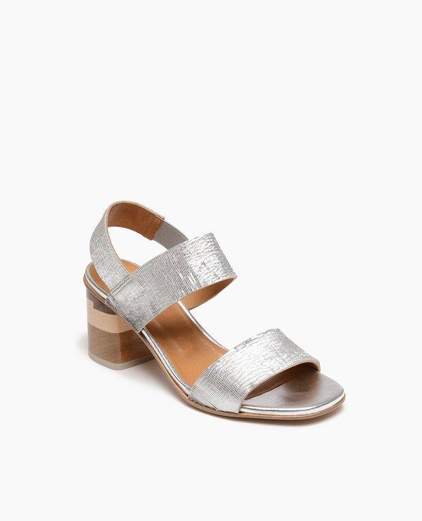 81a6d27ed Coclico Bask Sandal - Silver