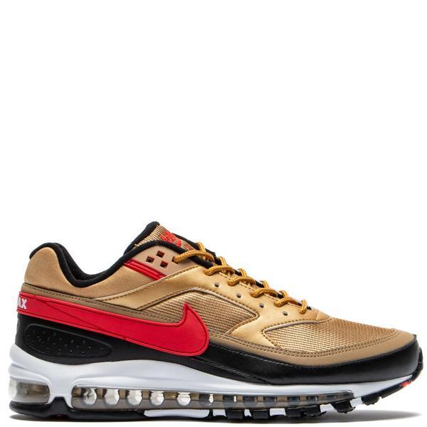 Nike Air Max 97BW Metallic Gold University Red on Garmentory