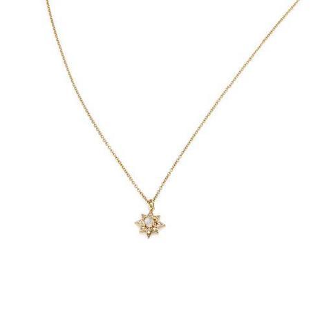 Melanie Auld Starburst Necklace - Gold