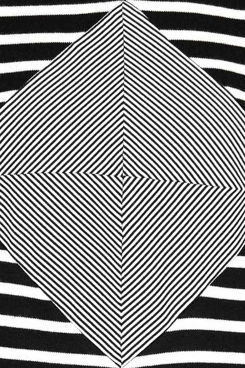LITKE Cube Striped Tee