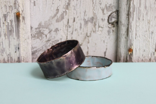 Melanie Rice: Thin Grape Bangle