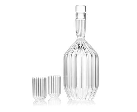 fferrone design glass decanter