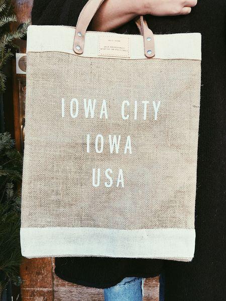 Apolis Iowa City Market Bag