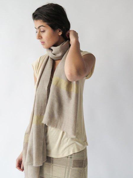 Erica Tanov X Bloom + Give Pashmina Scarf - Natural