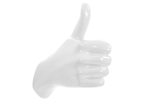 Thelermont Hupton Thumbs Up Hand Hook
