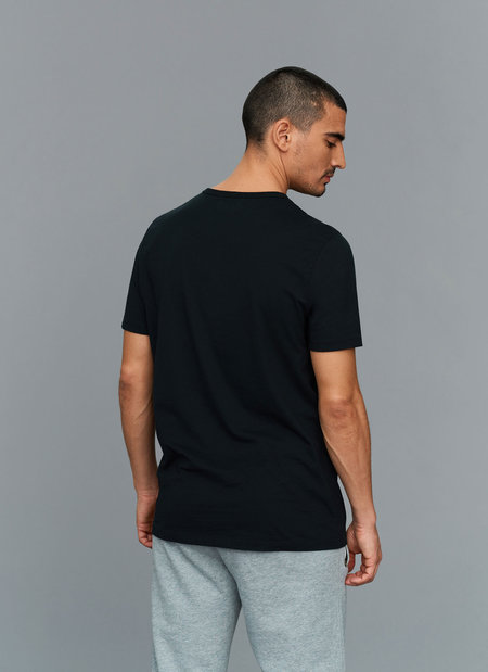 Eleven New York Embroidered T-Shirt - Black
