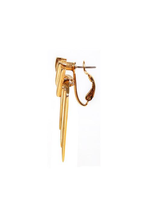 Mode Marteau Vintage Napier Triangle Earrings