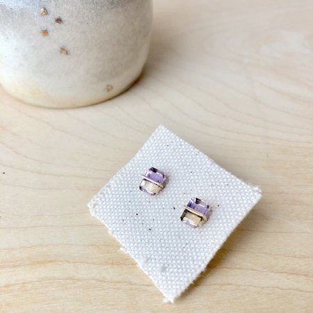 Januka Ametrine Earrings - 10k Gold