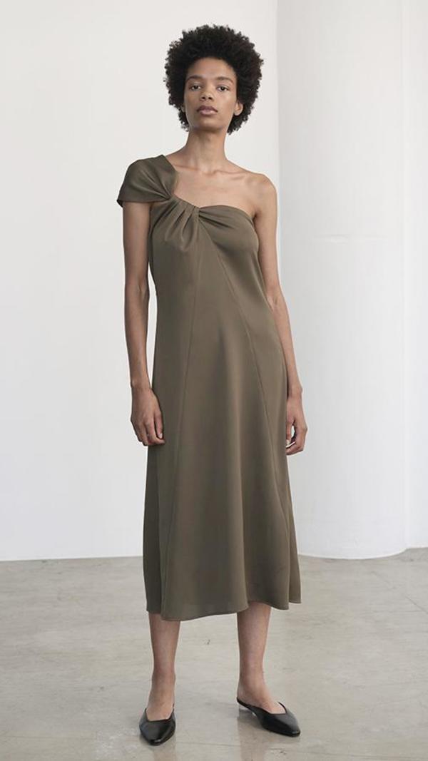 Shaina Mote Eres Dress - Olive
