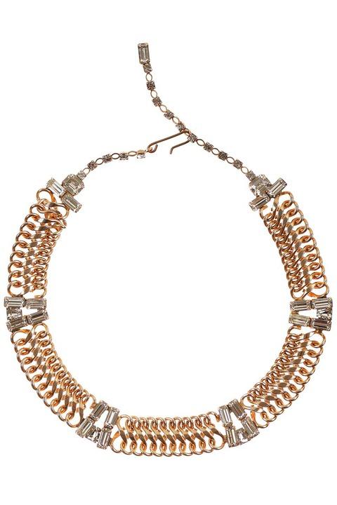 Mode Marteau Vintage Chain Necklace
