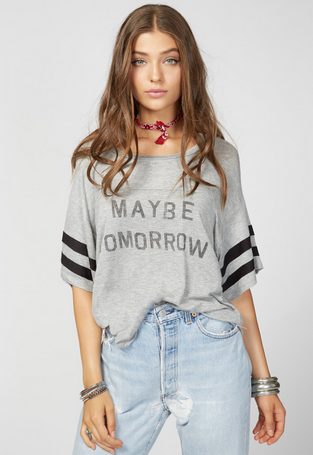 Daydreamer LA Maybe Tomorrow Tee