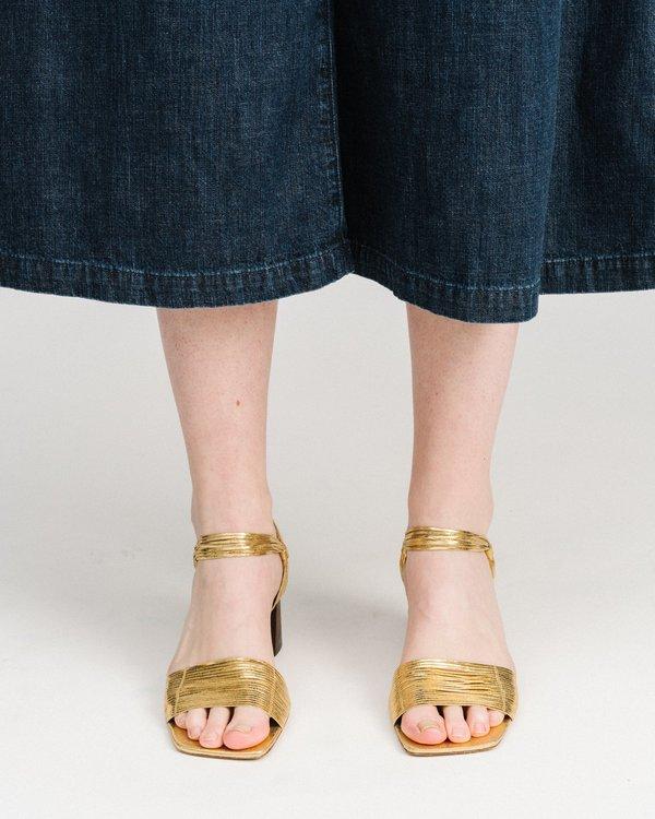Mari Giudicelli Vitta Sandals - Gold