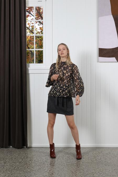 Ulla Johnson Sandrine Blouse - Midnight
