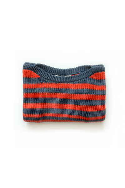 Micaela Greg Navy Striped Pullover