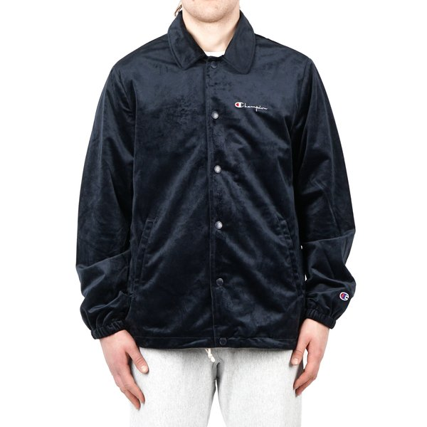 bbbbb73bd740 Champion VELVET COACH JACKET - BLACK