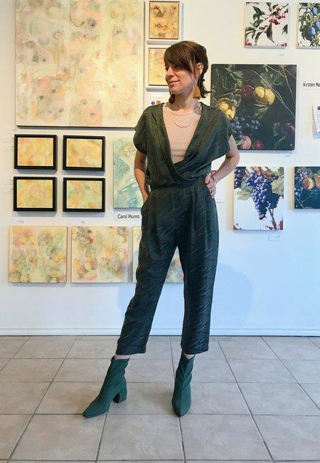 Allison Wonderland Getty Jumpsuit - Green