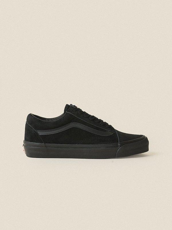 f8f62db043 VANS VAULT OG Old Skool LX Leather Suede - Black