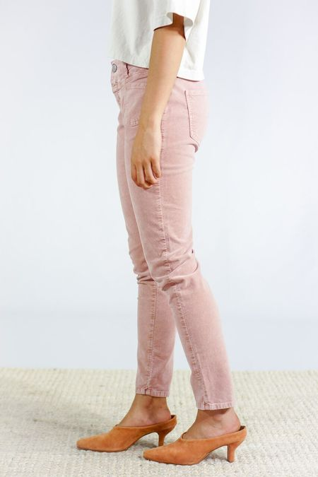 Closed Clothing X Velour Pants - Dusty Rose