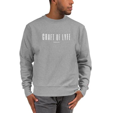 Craft of Lyfe x Champion Essential Sweatshirt