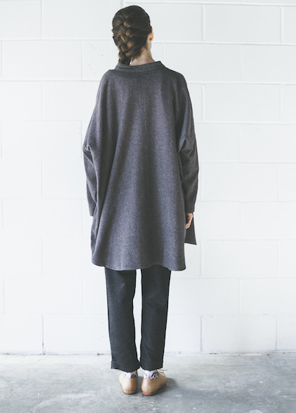Black Crane Square Shirt | Black