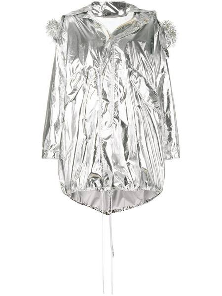 MM6 MAISON MARGIELA Oversized Parka - Silver