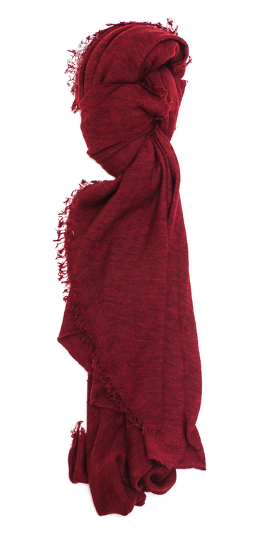 Grisal Love Cashmere Scarf in Tango