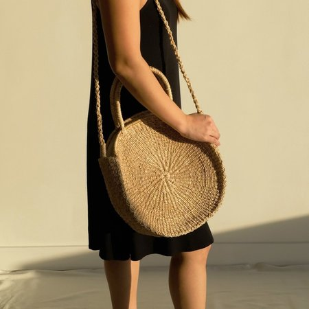 INNÉ Studios Sola Midi Bag - Natural