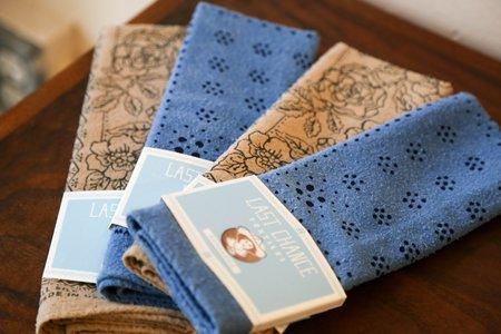 Last Chance Textiles Dot Bandana - Indigo