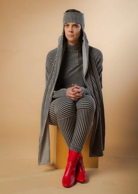 Reality Studio Commander Hood - Grey Stripes