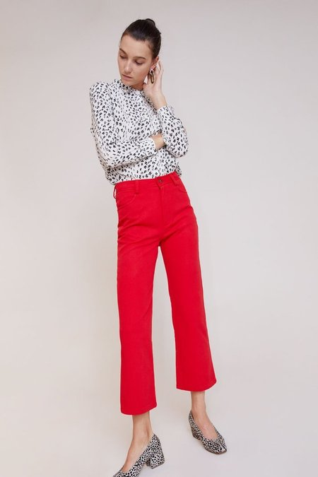 No.6 Tuesday Jeans - red